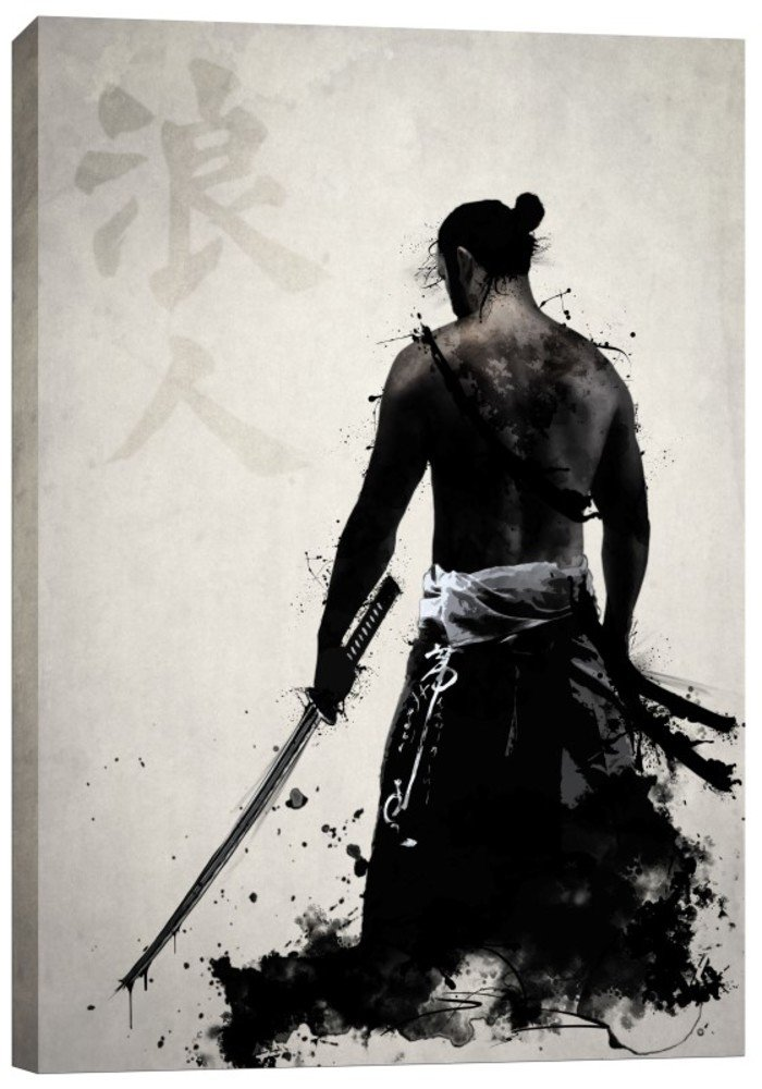 Cortesi Home ''Ronin'' by Nicklas Gustafsson, Giclee Canvas Wall Art, 40'' x 60''