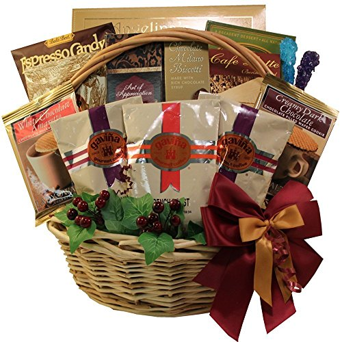 Cafe Gourmet Premium Coffee Lovers Gift Basket
