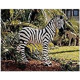 Design Toscano Zairen Zebra Statue For Sale