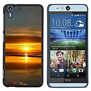 "For HTC Desire Eye ( M910x ) , S-type Sunset Beautiful Nature 99"" - Arte & diseño plástico duro Fundas Cover Cubre Hard Case Cover"