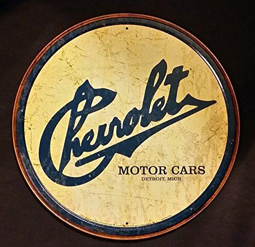 Logo Tin (Chevy Historic Logo Tin Sign 12 x 12in)