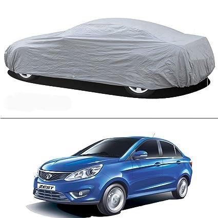 Autosun Matt Silver Car Body Cover For Tata Zest Amazon In Car