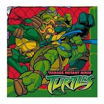 16ct TMNT Teenage Mutant Ninja Turtles Small Napkins