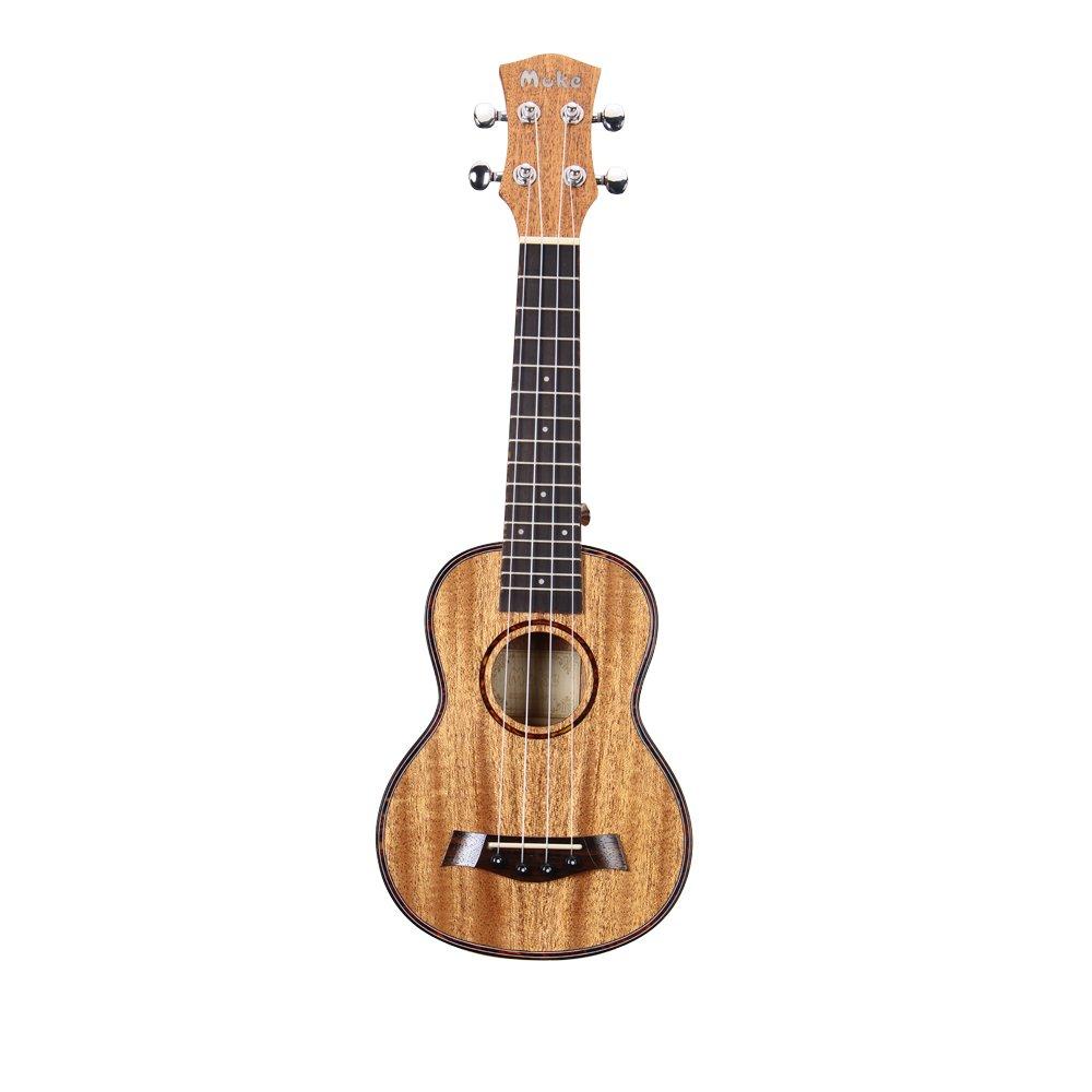 Muke hawaiano caoba ukelele de concierto (23 inch Hawaii guitarra Starter Kit con funda y cuerdas Aquila Nylgut cuerdas para niños, niñas, principiantes: Amazon.es: Instrumentos musicales