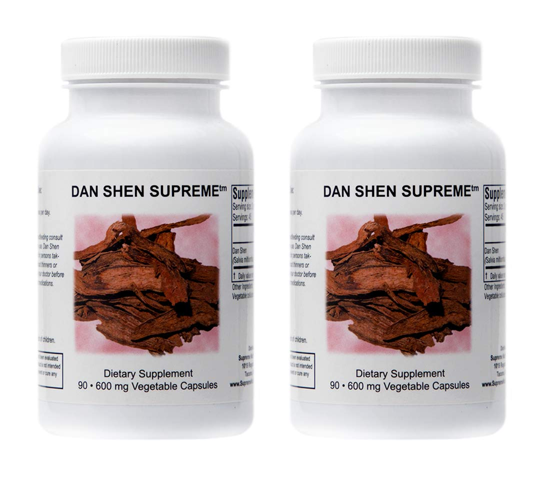 Amazon.com: Supreme Nutrition Dan Shen Supreme, 90 caps: Health & Personal Care