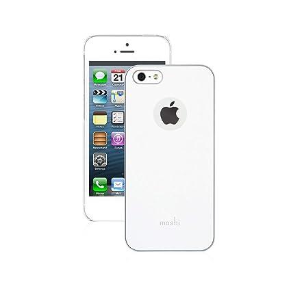best loved 726c8 ea4aa Moshi iGlaze Ultra Slim Case For iPhone 5/5S (White)
