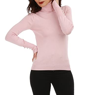 64390c273e33 La Modeuse - Pull Femme à col roulé  Amazon.fr  Vêtements et accessoires