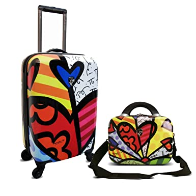 1c8abe3a5 Amazon.com | Heys Britto New Day Beauty Case and 22