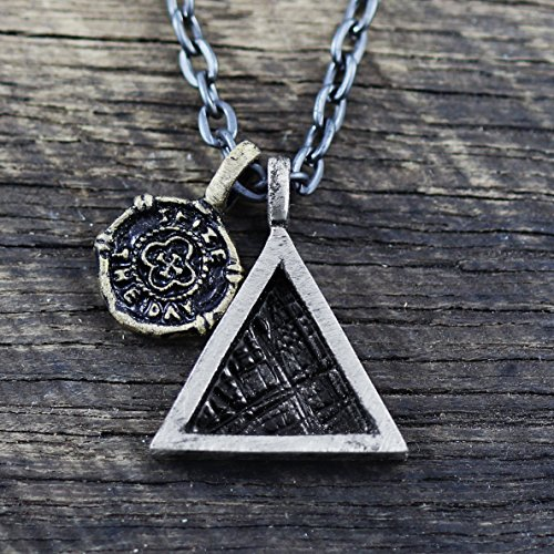 Amazon triangle necklace mens necklace geometric jewelry mens triangle necklace mens necklace geometric jewelry mens chain necklace minimalist necklace mens jewelry silver triangle mens aloadofball Image collections