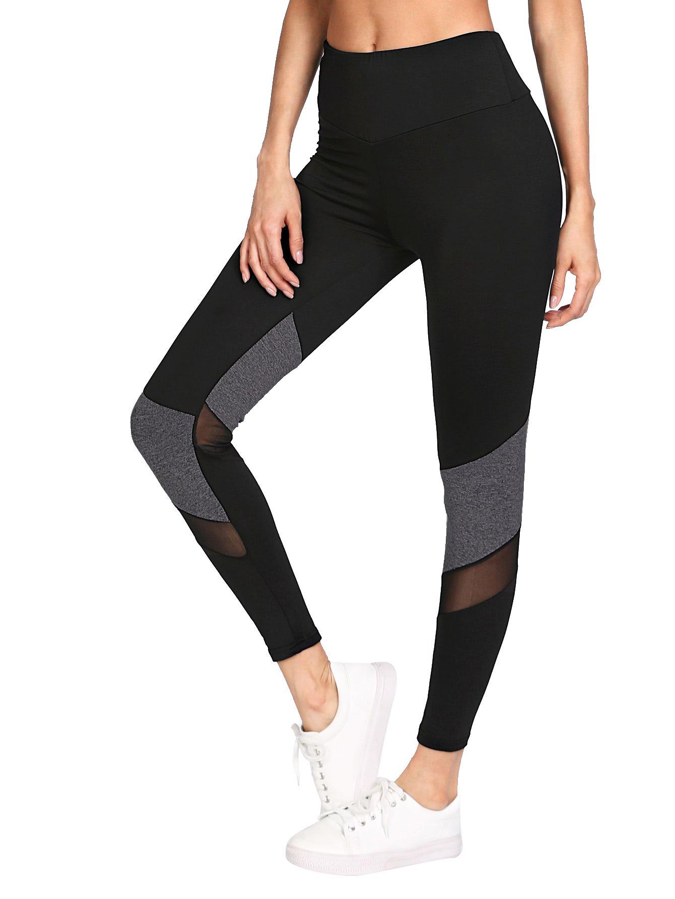 weatyRocks Women's Stretchy Skinny Sheer Mesh