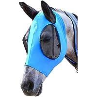 Dyda6 Máscara de Mosca para Caballo, máscara Protectora