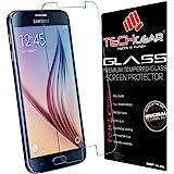 TECHGEAR® Samsung Galaxy S6 (SM-G920 Séries) VERRE Édition Original Verre Trempé Protecteur d'Ecran (Galaxy S6)