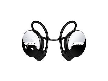I-Kool Sport-101 Compact auriculares Bluetooth inalámbrico Sport auriculares para Running Compatible con iPhone, iPad, Samsung, otros dispositivos ...