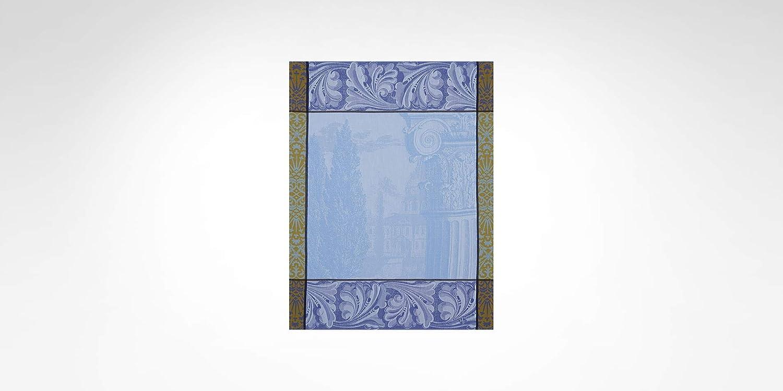60 x 80 cm Le Jacquard Francais 60 x 80 cm Rettangolare Iris Strofinaccio Barocco Jardin Iris