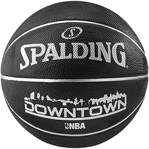 SPALDING NBA STRAßEN AUßEN SPIEL TRAINING &ÜBUNG INNENSTADT BASKETBALL GRÖßE 7 Schwarz