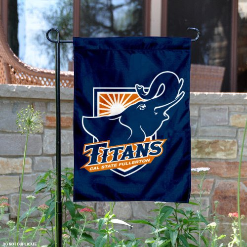 Cal State Fullerton Garden Flag and Yard Banner