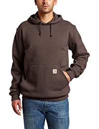 Men's Midweight Original Fit Hooded Pullover Sweatshirt K121