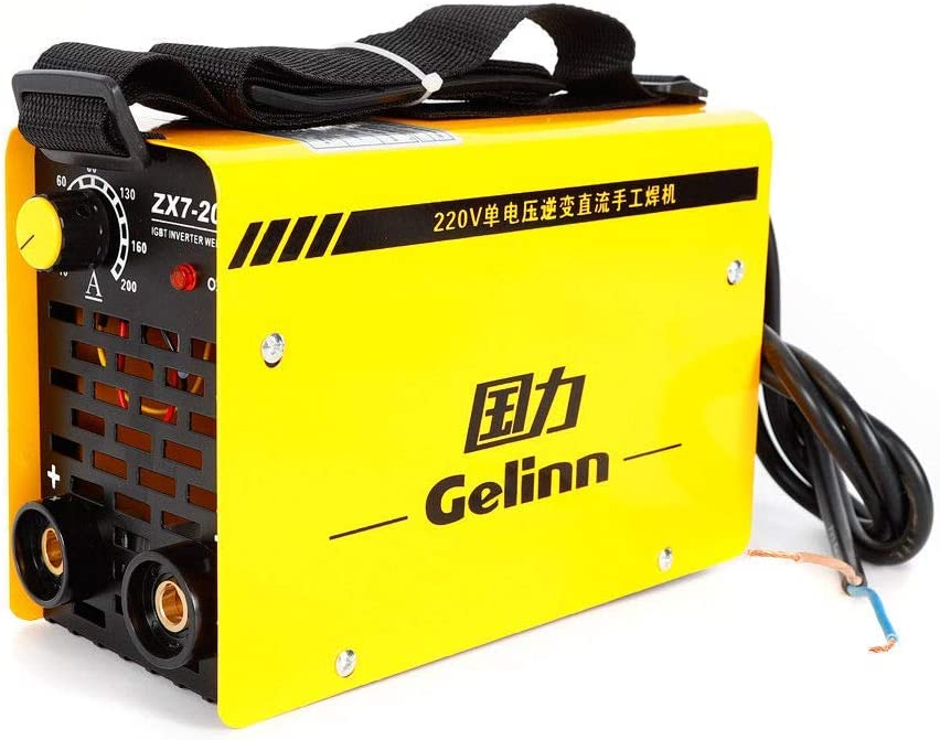 DiLiBee IGBT ZX7-200 Schwei/ßen Inverter Welder Kit Schwei/ßger/äte Wechselrichter welder Inverter-Schwei/ßger/ät Maschine