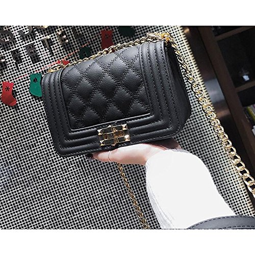 Red Bags Black Green Buttons Bag PU GMYAN Shoulder Women's Black 4w1qpw6A