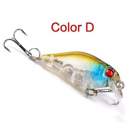 popper fishing lure crank bait topwater bait bass wobbler tackle Nice DE