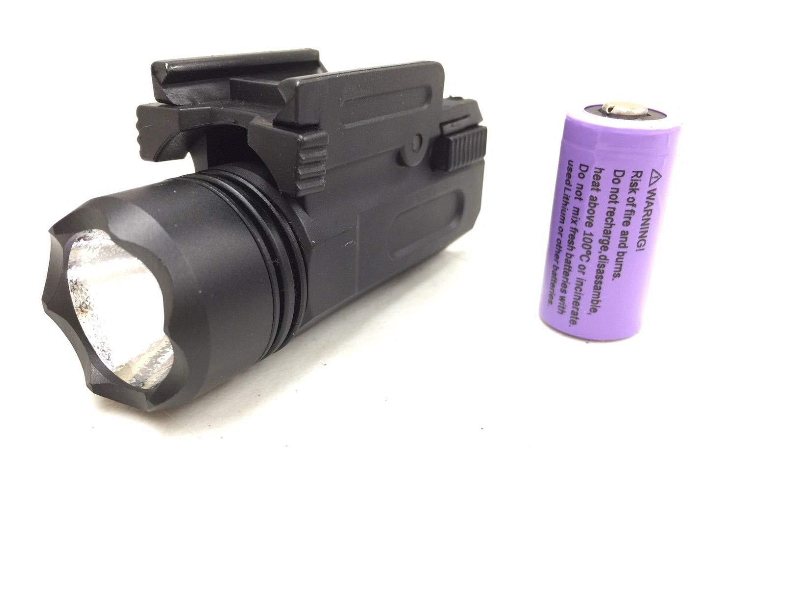 Fire Thunder Quick Release Tactical 180 Lumen Led Powered Pistol Flashlight Light