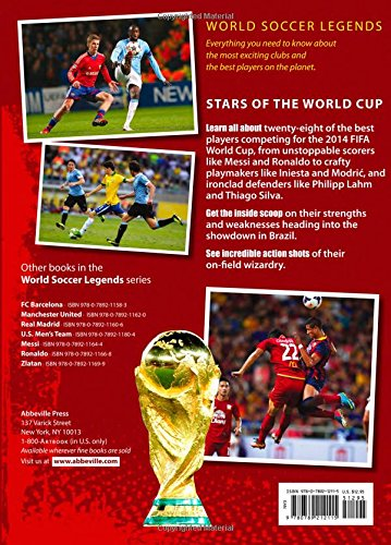 Photos of the world cup soccer stars book