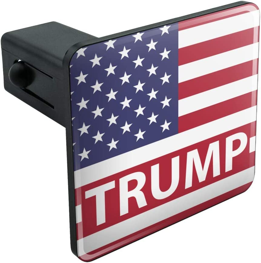 Graphics and More President Trump American Flag Tow Trailer Hitch Cover Plug Insert 1 1//4 inch 1.25