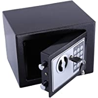 Anti-Dust Alloy Steel Combination Lock Safe, Digital Security Safe Box Safe Lock Box, Very Convenient for Home Office