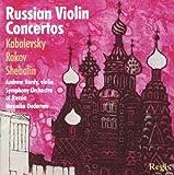 : Kabalevsky / Rakov / Shebalin:  Violin Concertos