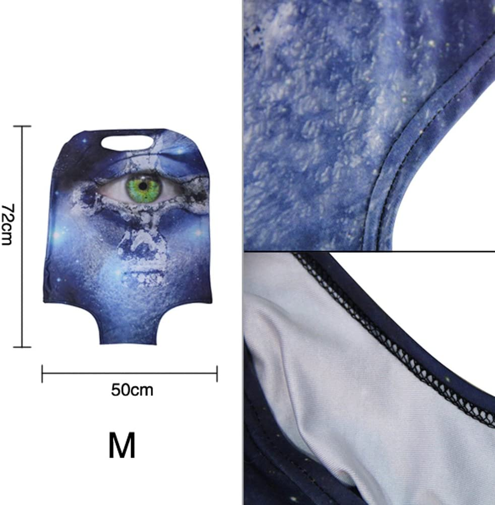 HUGS IDEA 22//24//26 Inch Spandex Elastic Suitcase Cover Protector Panda Print Travel Luggage Covers