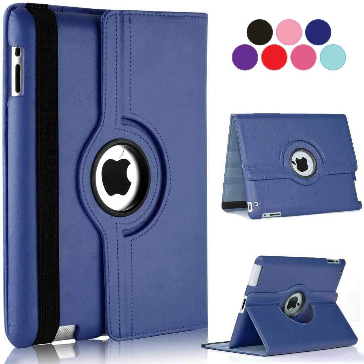 Vultic iPad Pro 9.7 Case (2016) - 360 Degree Rotating Stand [Auto Sleep/Wake] Folio Leather Smart Cover Case for Apple iPad Pro 9.7