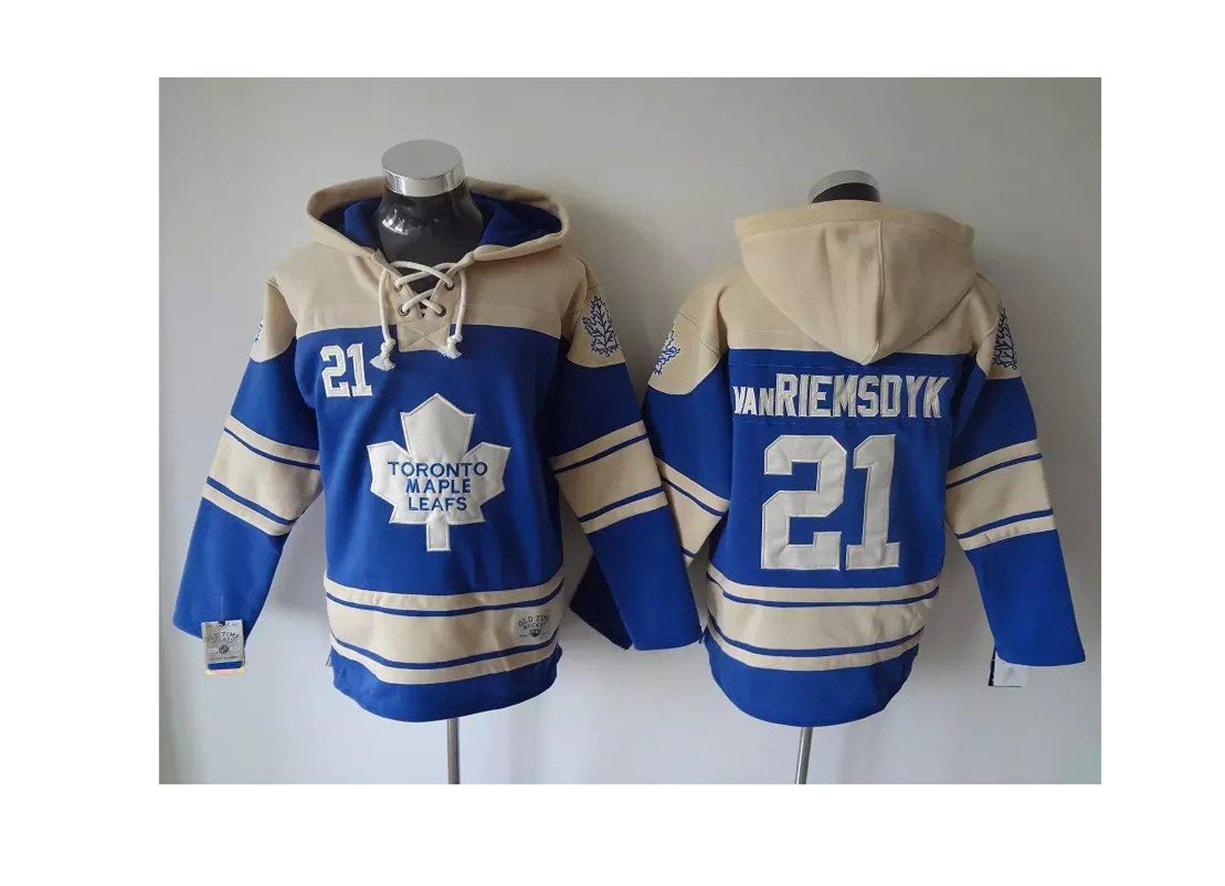 Amazon.com  Toronto Maple Leafs Mascot Men s Beige BLUE  21 Ice Hockey  Hoodies Size XXXL Black (8442856668881)  Books f2b2733a2