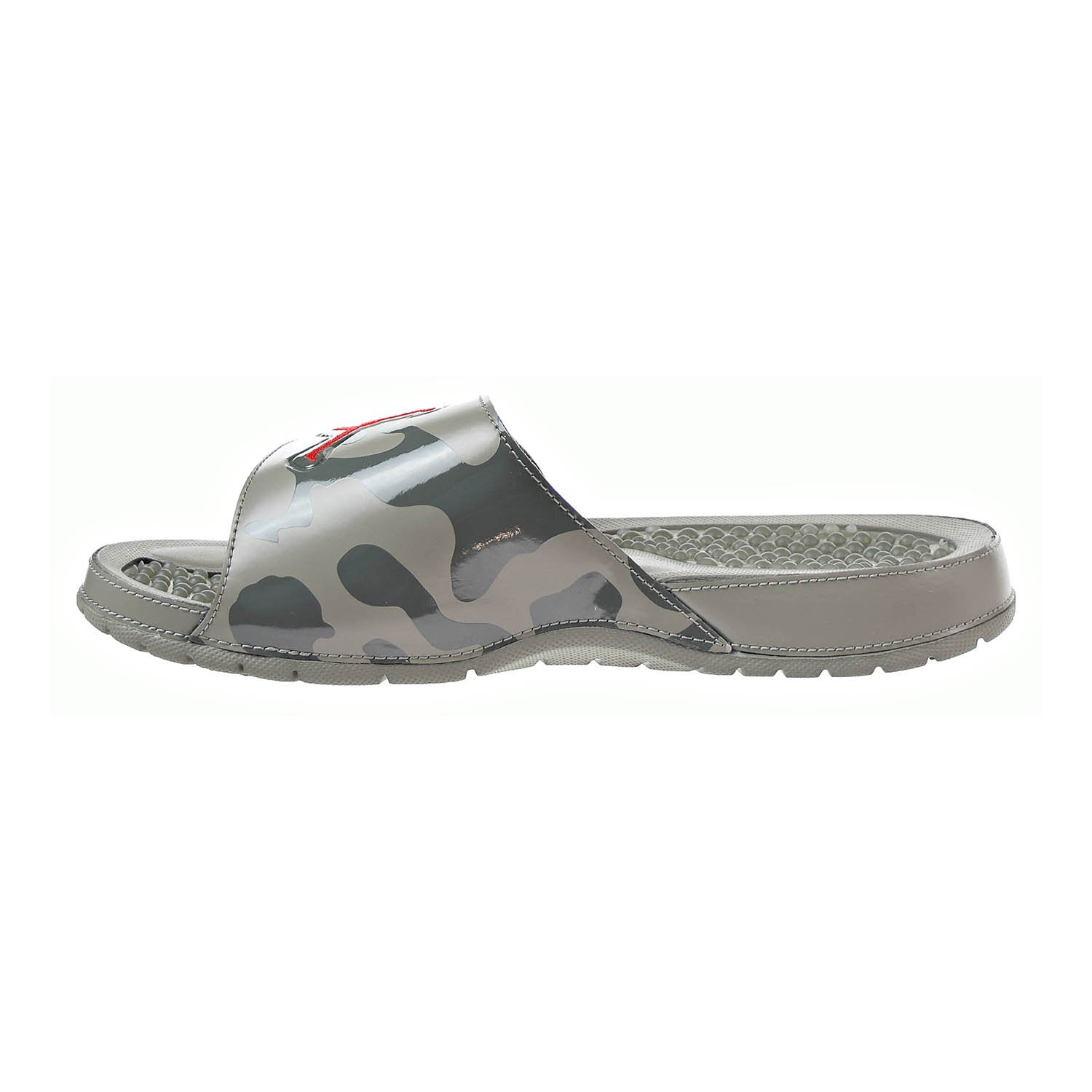 separation shoes ce7e6 1370a Amazon.com   Jordan Hydro 5 Retro Men s Slides Dark Stucco University Red  555501-051   Sandals
