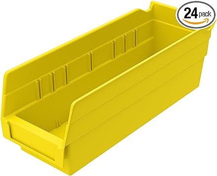 30138 Akro-Mils 40130 Width Divider for 30130 or 30164 Shelf Bins Black 24-Pack
