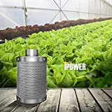 iPower GLFILT6M 6 Inch Air Carbon Filter Indoor