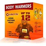WORLD-BIO Body Warmers Patch Disposable with Adhesive Backing Gives Hours Warm Pad - 10/20/30/40 Packs, Foot Warmer & Hand Wa