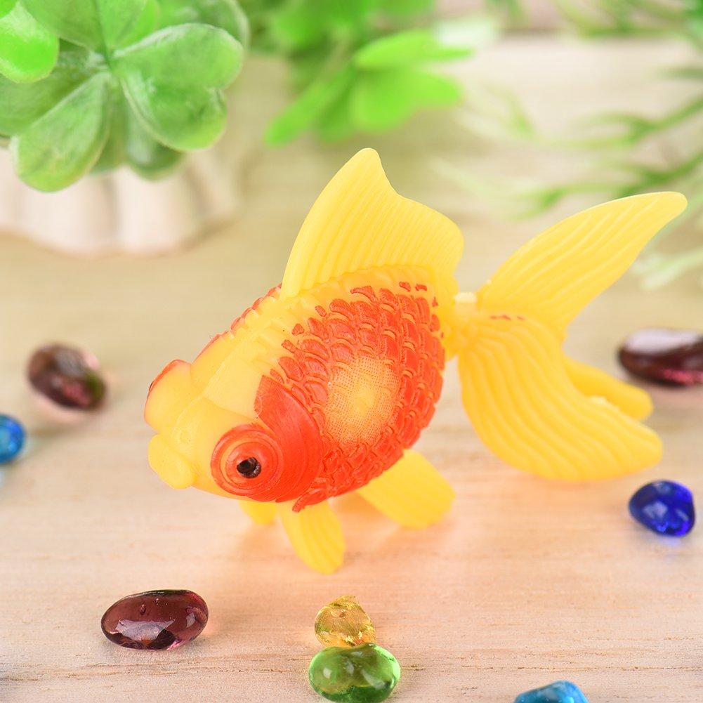 yunt 5pcs simulado peces adorno de gran valor acuario de oxígeno bomba flotante natación para Acuario Fish Tank Decoración: Amazon.es: Productos para ...