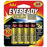 Energizer A91BP-4 Eveready AA Batteries Per 4