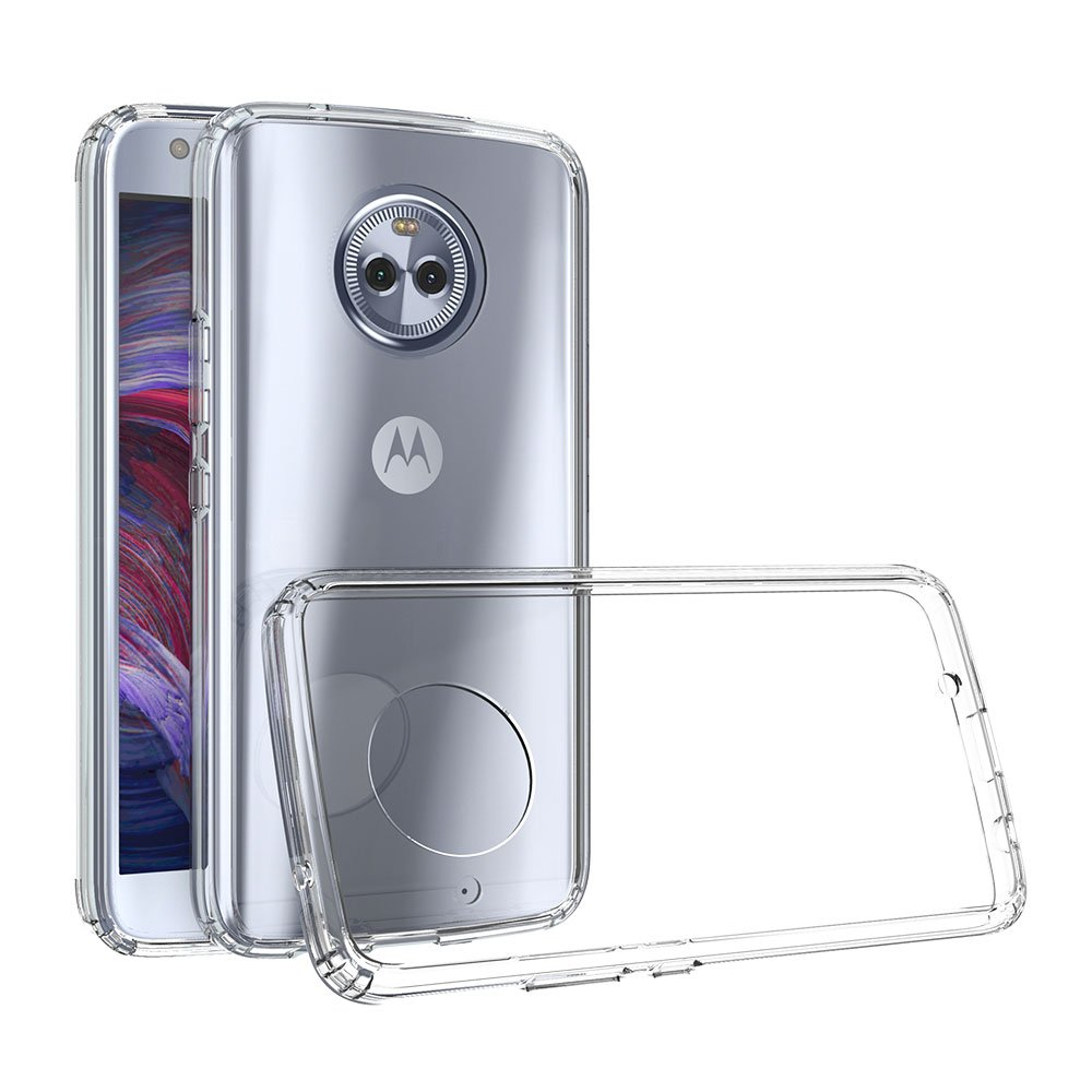 Xiu7 Clear Case for Motorola Moto X4, ultra-slim and lightweight design-Transparent