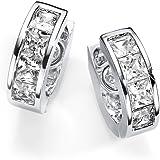 Elégant boucles d'oreilles Crystal Silver avec des cristaux Swarovski 834P Energetix 4you 834P Magnetix (1808) Bijoux magnétiques Ø antiallergique 1,4