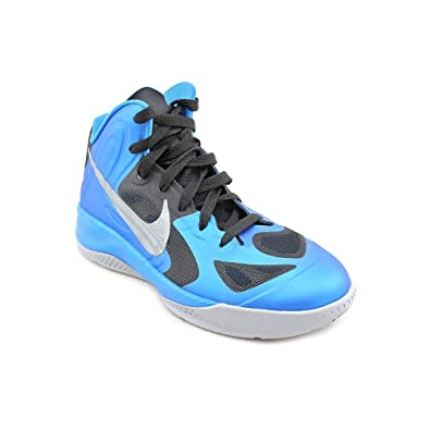 d96e20d75ab NIKE Hyperfuse (GS) Youth Boys Blue Basketball Shoes Size 4.5 UK UK 4.5   Amazon.co.uk  Shoes   Bags
