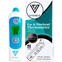 Digital Forehead and Ear Thermometer for Babies, Infants, Kids & Adults - FDA Approved Medical Grade Infrared…