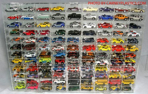 Hot Wheels Display Case 108 compartment 1/64 scale ()