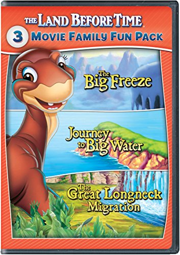 The Land Before Time VIII-X 3-Movie Family Fun Pack (The Big Freeze / Journey to Big Water / The Great Longneck Migration) (Land Time Dvd Set Before)