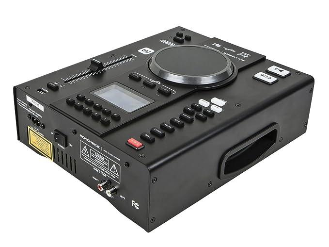 Amazon.com: Monoprice – Mesa DJ reproductor de CD con USB ...