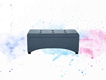Astounding Amazon Com Guplus Pintucked Storage Bench Multiple Cjindustries Chair Design For Home Cjindustriesco