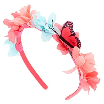 Amazon.com   Claire s Club Girl s Claire s Club Flower   Butterfly ... 2d6b0c9297f