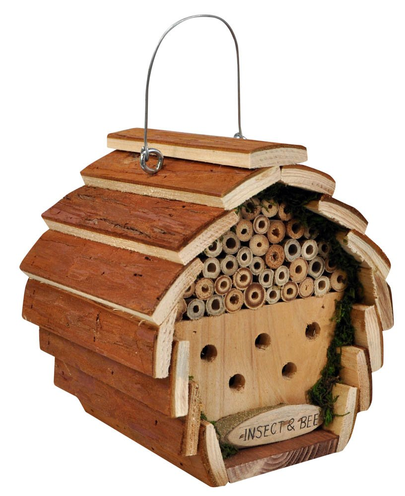 Kingfisher Wooden Insect and Bee Hotel King Fisher HOTEL2