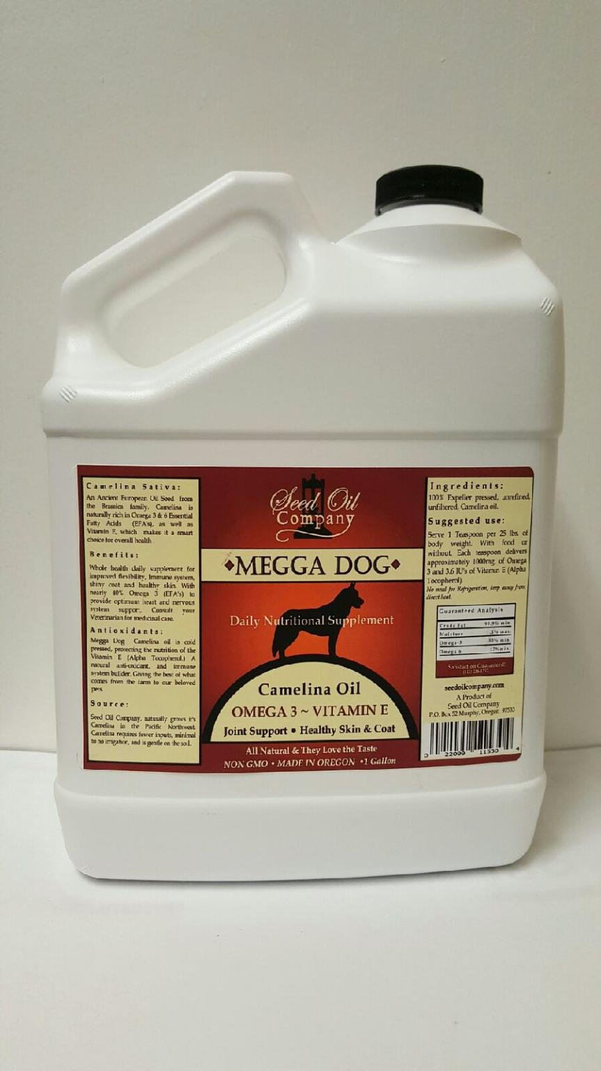 Seed Oil Company Megga Dog 1 Gallon by Seed Oil Company