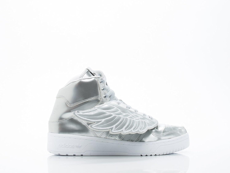 Adidas Jeremy Scott Wings metal hombre  en plata metálico